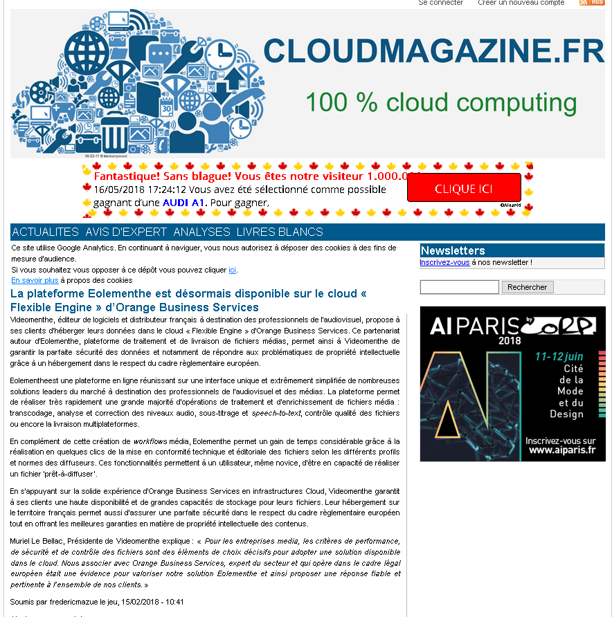 Cloudmagazine feb. 2018